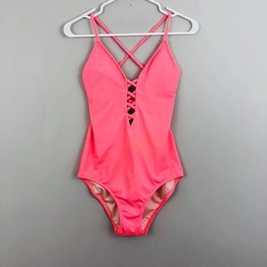 Victoria's Secret Pink One Piece Bathing Suit
